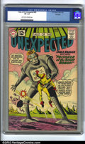 Golden Age (1938-1955):Science Fiction, Tales of the Unexpected #68 Big Apple pedigree (DC, 1962) CGC FN6.0 Light tan to off-white pages. Overstreet 2002 FN 6.0 v...