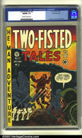 Golden Age (1938-1955):War, Two-Fisted Tales #22 Gaines File pedigree (EC, 1951) CGC NM/MT 9.8 Off-white to white pages. Overstreet 2002 NM 9.4 value = $3...