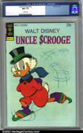 Bronze Age (1970-1979):Cartoon Character, Uncle Scrooge #111 (Dell, 1974) CGC NM+ 9.6 White pages. Overstreet2002 NM 9.4 value = $30....