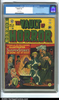 Golden Age (1938-1955):Horror, Vault of Horror #14 (EC, 1950) CGC VG/FN 5.0 Off-white pages.Craig, Ingels and Feldstein art. Overstreet 2002 GD 2.0 value ...