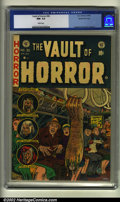 Golden Age (1938-1955):Horror, Vault of Horror #30 Gaines File pedigree (EC, 1953) CGC NM- 9.2White pages. Overstreet 2002 NM 9.4 value = $450....