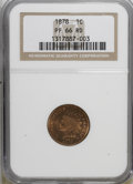 Proof Indian Cents: , 1878 1C PR66 Red NGC. NGC Census: (6/1). PCGS Population (8/1). Mintage: 2,350. Numismedia Wsl. Price for NGC/PCGS coin in ...