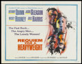 """Movie Posters:Sports, Requiem for a Heavyweight (Columbia, 1962). Half Sheet (22"""" X 28""""). Sports...."""