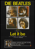 "Movie Posters:Rock and Roll, Let It Be (United Artists, 1970). German A1 (23"" X 33""). Rock andRoll...."