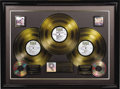 Music Memorabilia:Awards, Woodstock RIAA Gold Album Award and Poster. Presented to producer and Woodstock co-founder Artie Kornfeld by the RIA... (Total: 1 Item)