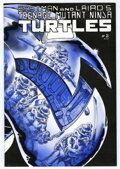 Modern Age (1980-Present):Humor, Teenage Mutant Ninja Turtles #2 Second Printing (Mirage Studios,1984) Condition: NM....