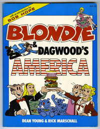 Blondie and Dagwood's America, Signed by Penny Singleton (Harper