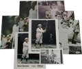 Golf Collectibles:Autographs, Gene Sarazen Signed Photos Lot of 8. Offered here is a collectionof 8 autographed photos (3 different images) from one of t...(Total: 8 )