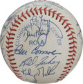 Autographs:Baseballs, 1983 Detroit Tigers Team Signed Baseball. Gaining momentum fortheir tremendous World Series season the following year, the...