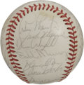 Autographs:Baseballs, 1984 AL All-Star Team Signed Baseball. Just about every usable inchof the provided official orb from the 1984 All-Star Gam...