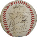 Autographs:Baseballs, 1983 Seattle Mariners Team Signed Baseball. Twenty from the 1983Seattle Mariners have checked in on the provided OAL (MacP...