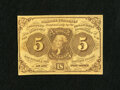 Fractional Currency:First Issue, Fr. 1230 5c First Issue Choice About New+++. The technical grade does not due justice to the allure and aesthetic beauty of ...