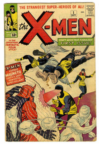 X-Men #1 (Marvel, 1963) Condition: GD/VG