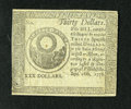 Colonial Notes:Continental Congress Issues, Continental Currency September 26, 1778 $30 Counterfeit DetectorChoice New. A boldly printed and wonderfully embossed examp...
