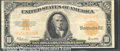 Large Size Gold Certificates:Large Size, 1922 $10 Gold Certificate, Fr-1173, VF-XF. The combination of s...