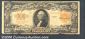 Large Size Gold Certificates:Large Size, 1922 $20 Gold Certificate, Fr-1187, Good-VG. Margin roughness a...