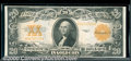 Large Size Gold Certificates:Large Size, 1922 $20 Gold Certificate, Fr-1187, XF. Excellent color on the ...