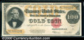 Large Size Gold Certificates:Large Size, 1922 $100 Gold Certificate, Fr-1215, XF. This note has all the ...