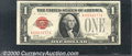 Small Size:Legal Tender Notes, 1928 $1 Legal Tender Note, Fr-1500, VF-XF. It is very unusual t...