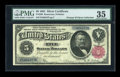 Large Size:Silver Certificates, Fr. 266 $5 1891 Silver Certificate PMG Choice Very Fine 35....