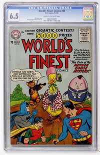 World's Finest Comics #83 (DC, 1956) CGC FN+ 6.5 Cream to off-white pages