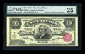 Large Size:Silver Certificates, Fr. 297 $10 1886 Silver Certificate PMG Very Fine 25....