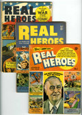 Golden Age (1938-1955):Non-Fiction, Real Heroes Comics Group (Parents' Magazine Institute, 1941-43)Condition: VG-.... (Total: 7 Comic Books)