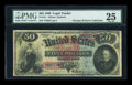Large Size:Legal Tender Notes, Fr. 151 $50 1869 Legal Tender PMG Very Fine 25....