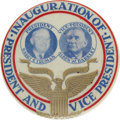 Political:Inaugural (1789-present), Truman & Barkley: Scarcest Jugate Button Variety for this ToughTicket. ...