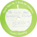 "Music Memorabilia:Recordings, Beatles ""The Long and Winding Road"" 10"" 45-rpm Acetate Apple CorpsLabel (1970). Version is the same as the single, and whic...(Total: 1 Item)"