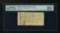 Colonial Notes:North Carolina, North Carolina December, 1771 L1 PMG Very Fine 25 Net....