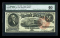 Large Size:Legal Tender Notes, Fr. 53 $2 1880 Legal Tender PMG Extremely Fine 40....