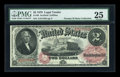 Large Size:Legal Tender Notes, Fr. 49 $2 1878 Legal Tender PMG Very Fine 25....