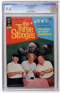 Bronze Age (1970-1979):Humor, Three Stooges #54 File Copy (Gold Key, 1972) CGC VF/NM 9.0 Whitepages. Photo cover. Overstreet 2007 VF/NM 9.0 value = $68; ...