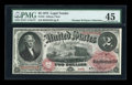 Large Size:Legal Tender Notes, Fr. 44 $2 1875 Legal Tender PMG Choice Extremely Fine 45....