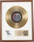 Music Memorabilia:Awards, Beatles Revolver RIAA Gold Album Award. Presented to theBeatles by the RIAA to commemorate the sale of $1 milli... (Total:1 Item)