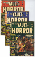 Golden Age (1938-1955):Horror, Vault of Horror #20, 32, and 33 Group (EC, 1951-53).... (Total: 3Comic Books)