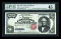 Large Size:Silver Certificates, Fr. 333 $50 1891 Silver Certificate PMG Choice Extremely Fine45....