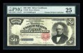 Large Size:Silver Certificates, Fr. 332 $50 1891 Silver Certificate PMG Very Fine 25....