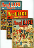 Golden Age (1938-1955):Non-Fiction, Real Life Comics Group (Nedor Publications, 1941-46) Condition:Average GD.... (Total: 10 Comic Books)