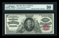 Large Size:Silver Certificates, Fr. 316 $20 1886 Silver Certificate PMG Very Fine 30....