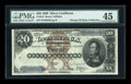 Large Size:Silver Certificates, Fr. 310 $20 1880 Silver Certificate PMG Choice Extremely Fine45....