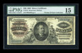 Large Size:Silver Certificates, Fr. 314 $20 1886 Silver Certificate PMG Choice Fine 15....