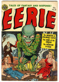 Golden Age (1938-1955):Horror, Eerie #8 (Avon, 1952) Condition: VG+....