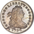 Early Dimes, 1796 10C MS64 NGC. CAC....