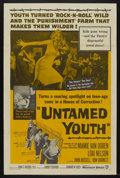 """Movie Posters:Cult Classic, Untamed Youth (Warner Brothers, 1957). One Sheet (27"""" X 41""""). CultClassic...."""