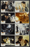 """Movie Posters:Adventure, Raiders of the Lost Ark (Paramount, 1981). Lobby Card Set of 8 (11"""" X 14""""). Adventure.... (Total: 8 Items)"""
