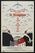 "Movie Posters:Comedy, Dr. Strangelove or: How I Learned to Stop Worrying and Love theBomb. (Columbia, 1964). One Sheet (27"" X 41""). Comedy...."