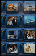 """Movie Posters:James Bond, Licence to Kill (United Artists, 1989). Lobby Card Set of 8 (11"""" X14""""). James Bond.... (Total: 8 Items)"""