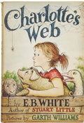 Books:Children's Books, E. B. White. Charlotte's Web. Pictures by Garth Williams.New York: Harper & Brothers, Publishers, [1952]....